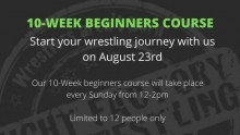 Beginners Training course now open thumbnail