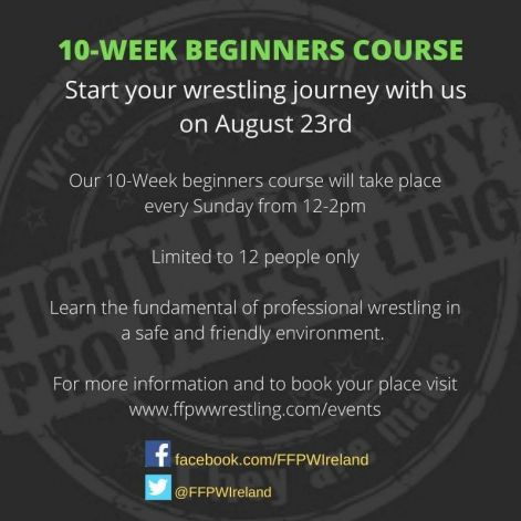 Beginners Training course now open